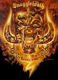 ♠ Motörheadster ♠: Petagno Paints his last Snaggletooth