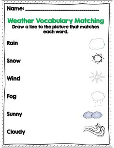 Weather and Seasons Change (SCIENCE) Emergent Reader for Young ...