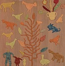 Granny Donaldson Folk Art Textile