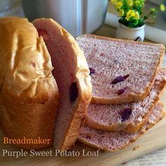 My Mind Patch: Breadmaker Purple Sweet Potato Bread