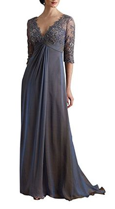 Amazing offer on Butterfly Paradise Dress Butterfly Paradise Deep V-Neckline Iridescent Silk Chiffon A-line Dress online Mother Of The Bride Gown, Mother Of Groom Dresses, Prom Dresses With Sleeves, Mob Dresses, Cute Dresses, Dresses Online, Bride Dresses, Corsage, Pregnant Wedding Dress