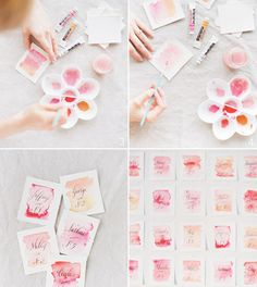 8 Dreamy Watercolor Wedding Details That Will Be Your Next Obsession || Colin Cowie Weddings