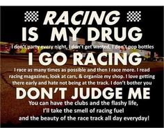 Racing is life Sprint Car Racing, Street Racing Cars, Dirt Track Racing, Nascar Racing, Auto Racing, Horse Racing, Motocross Quotes, Bike Quotes, Motorcycle Quotes