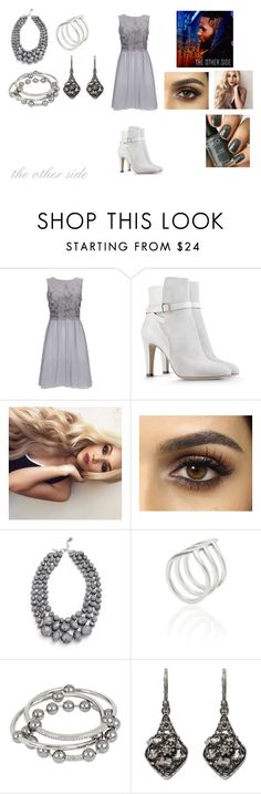 """""""The Other Side by Jason Derulo"""" by ocean-goddess ❤ liked on Polyvore featuring Wallis, Alberta Ferretti, Smith/Grey, Kenneth Cole and Alexander McQueen"""
