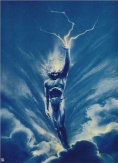 The Storm - Wojciech Siudmak, polish painter