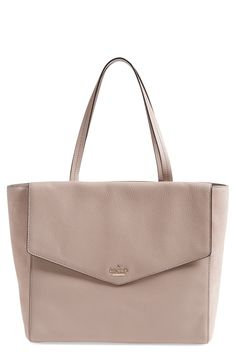 How chic is this Kate Spade tote from the Nordstrom Anniversary Sale? Soft suede sides further the sophisticated appeal while a large interior with plenty of pockets allows for effortless organization.