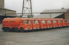 ERF - Rugby Cement Big Rig Trucks, Old Trucks, Old Lorries, Train Car, Four Wheel Drive, Commercial Vehicle, Vintage Trucks, Classic Trucks, Cement