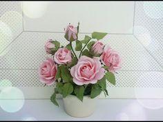 ABC TV   Cómo hacer la flor de papel de Rose con el sacador de la forma - Tutorial del arte - YouTube