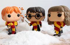 Harry Potter, Ron Weasley y Hermione Granger Harry Potter Disney, Harry Potter Ron Weasley, Deco Harry Potter, Harry Potter Tumblr, Hermione Granger, Funko Pop Harry Potter, Wwe Funko Pop, Funko Pop Dolls, Harry Potter Action Figures