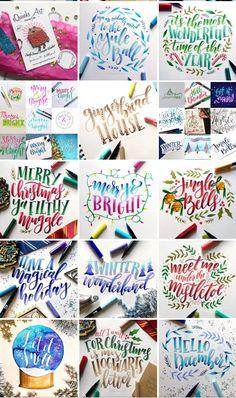Cute Qoutes, Hand Lettering Art, Harry Potter Art, Calligraphy Letters, Chalkboard Art, Letter Art, Brush Pen, Happy Birthday Cards, Yule