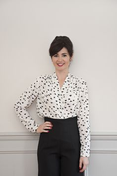 Anderson blouse pattern