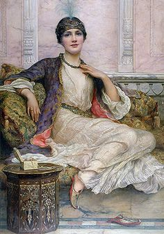 The Jade Necklace (1908) - William Clarke Wontner