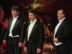 The Irish Tenors- Toora-Loora-Looral (LIVE) My grandmother used to sing this to me.  And my mother, too.