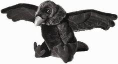 Goth Shopaholic: Cute Little Stuffed Plush Ravens for Edgar Allan Poe Fans