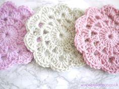 Free Crochet Coaster Patterns Crochet Coasters Pattern Free Pattern And Video Tutorial - vanessaharding.com
