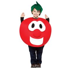 veggie tales- bob the tomato toddler/ child costume for my brother