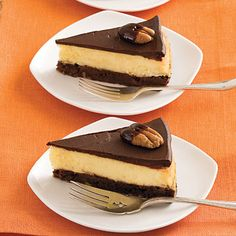 Recipe: Chocolate-Fudge Cheesecake | SouthernLiving.com | #Chocolate