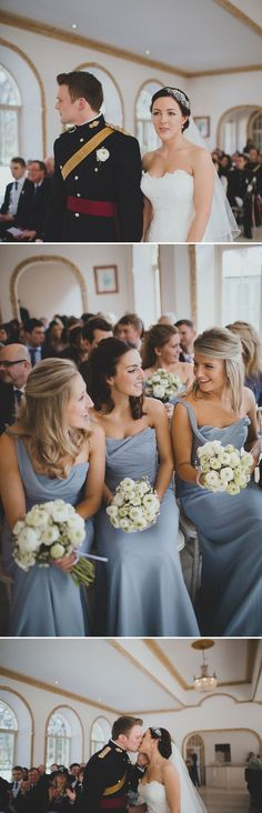 Love the colour & style of the bridesmaid dresses. Simple but elegant. Also their neutral bouquets are lovely. Classically elegant.