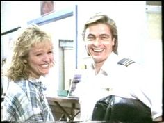'The Flying Doctors'. Emma Plimpton (Rebecca Gibney) and Sam Patterson. (Peter O'Brien)