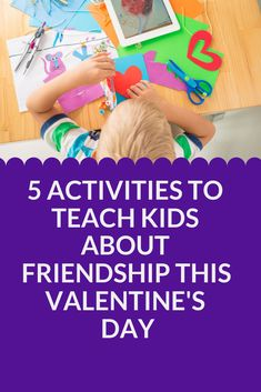 Try these hands-on activities for kids to celebrate and honor friendships this Valentine's Day. Fun Crafts For Kids, Craft Activities For Kids, Projects For Kids, Cute Valentines Day Ideas, Valentines Day Activities, Interactive Activities, Hands On Activities, Friendship Art, Painting Activities