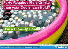 Drinking - Party Requires More Drinks than your Cooler can Hold?