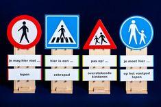 Afbeeldingsresultaat voor KLEUTERS verkeersborden