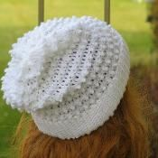 Crochet hat Pattern, Claudia Slouchy Hat - via @Craftsy  $5.00