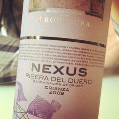 Nexus Crianza 2009 (tempranillo de Ribera del Duero) #vino #videocata #uvinum @bodegasnexusfrontaura