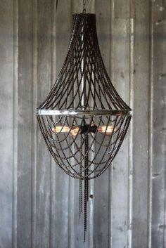 Cobbles fietsmeubels Lamp plafond van ketting