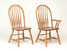 Bent Feather Bow Dining Chair - Amish Direct Furniture