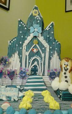 Castillo en chuches de Frozen