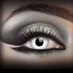 ONE DAY lentille de couleur blanc WHITE WITCH lens fantaisie contact  halloween c042bfe3da73