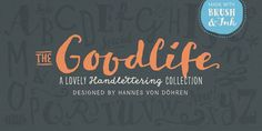 Classic and Dreamy Hand Drawn Fonts - Vandelay Design