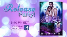 *****Other Worlds Release Party***** Join the award-winning authors of the Other Worlds box set as they celebrate the release of Other Worlds! Every 30 minutes from 6-10 PM EDT until we shut the lights off on Friday night, we'll be kicking it old-style where YOU our amazing readers can come hang out, mingle, play, and win big with FREE books, Kindles, giftcards, and more. But you gotta be in it if you wanna win it. SEE YOU THERE! https://www.facebook.com/events/330467220717539
