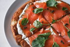 Smoked Salmon Brunch Pizza A few of my favorite things: a breathtaking view of the city, local writers and one killer menu. Smoked Salmon Pizza, Wine And Pizza, Philly Food, I Want Food, Eat Seasonal, Breakfast Pizza, Eating Organic, Salmon Recipes, Food Hacks