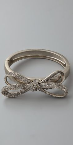 Marc by Marc Jacobs bow bracelet