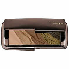 HOURGLASS Modernist Eyeshadow Palette in Color Field (Olive)- warm ivory, champagne gold, taupe brown, golden olive, forest green