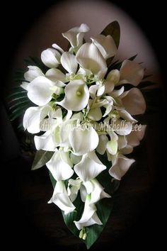 Silk tiger lily and artificial mini orchid round bouquet 75 18cm silk wedding flowers beautiful wedding bouquets fresh or real touch artificial wedding mightylinksfo