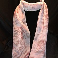hand-dyed silk chiffon scarf by Donna Marchetti Design on Opensky