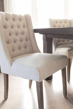 Caroline Wing Back Chair From The Brick Wood Detail Room