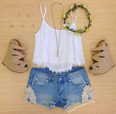 outfit shorts casual - Buscar con Google