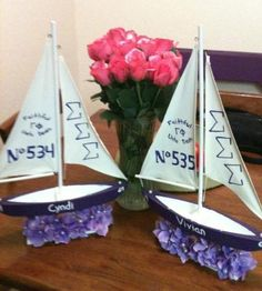 Tri Sigma | Sigma Sigma Sigma sorority... Nice new member activity or the absolute perfect big/little gift!