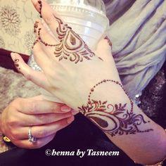 Proper arabic henna