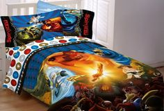 Lego Ninjago Ninja Masters Twin Sheet Set