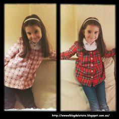 El blog de la Tata: Como hacer una blusa con pechera para niña paso a paso - PARTE I