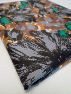 vintage fabric. $25.00, via Etsy.