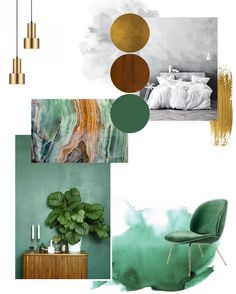 #moodboard for new #bedroom project