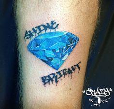 Diamond Tattoo bjncrazy BjnCrazy Crazy Tattoo - 01222662260 https://www.facebook.com/crazyyytattoo