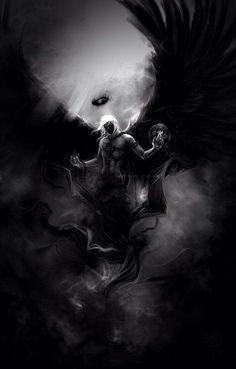 Dark engel story inspiration: random in 2019 dark fantasy art, fantasy art, Dark Angels, Angels And Demons, Angel Warrior, Fantasy Warrior, Dark Fantasy Art, Fantasy Artwork, Demon Artwork, Beautiful Dark Art, Satanic Art
