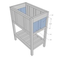 Ana White Build A Wood Cooler By Birds And Soap Free